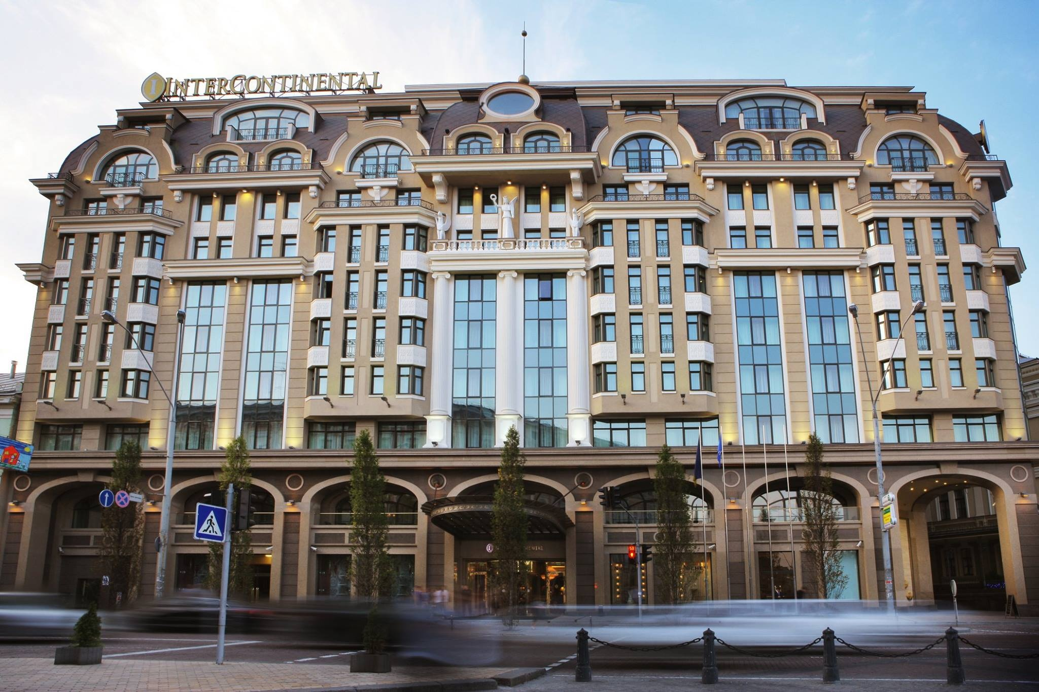 Hotel 'Intercontinental Kyiv'